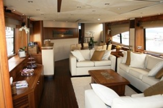 Yacht IN ALL FAIRNESS -  Main Salon