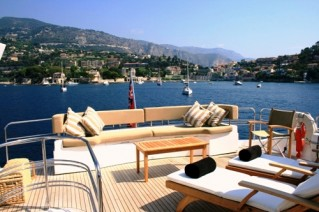 Yacht IN ALL FAIRNESS -  Sundeck View Aft
