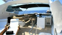 Yacht IN ALL FAIRNESS -  Sundeck View forward
