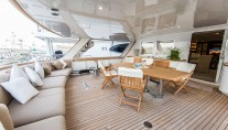Yacht INDIA - Aft Deck