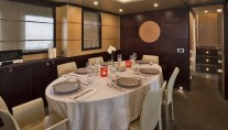Yacht INDIAN - Formal dining