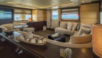 Yacht INDIAN - Salon view aft