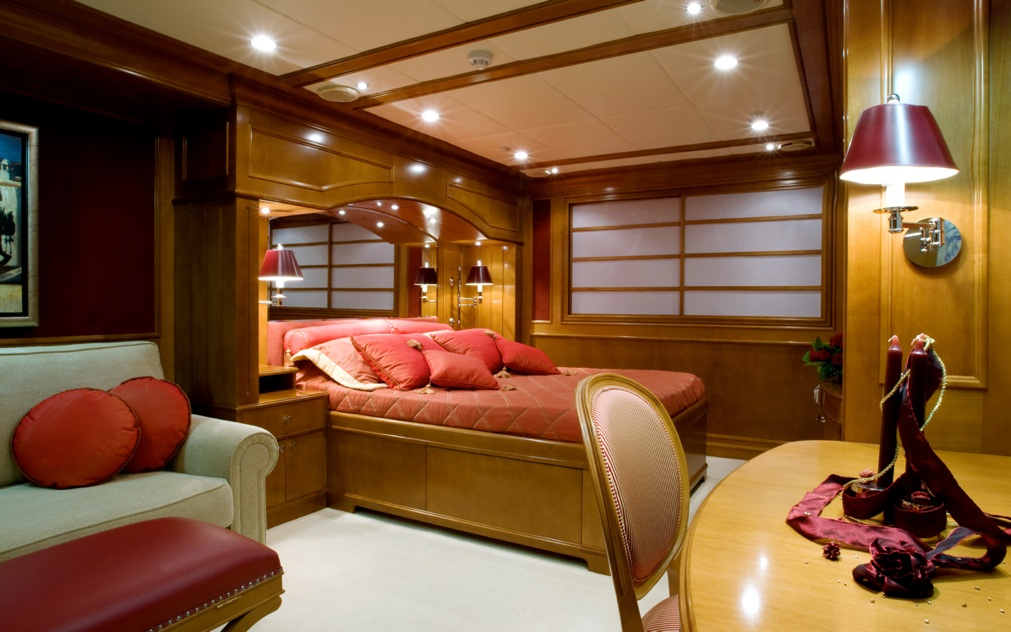 Yacht insignia vip cabin luxury yacht browser by for Insignia interior design decoration