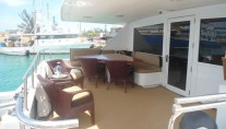 Yacht ISLAND TIME - Aft Deck