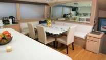 Yacht ISLAND TIME - Galley with Country Kitchen