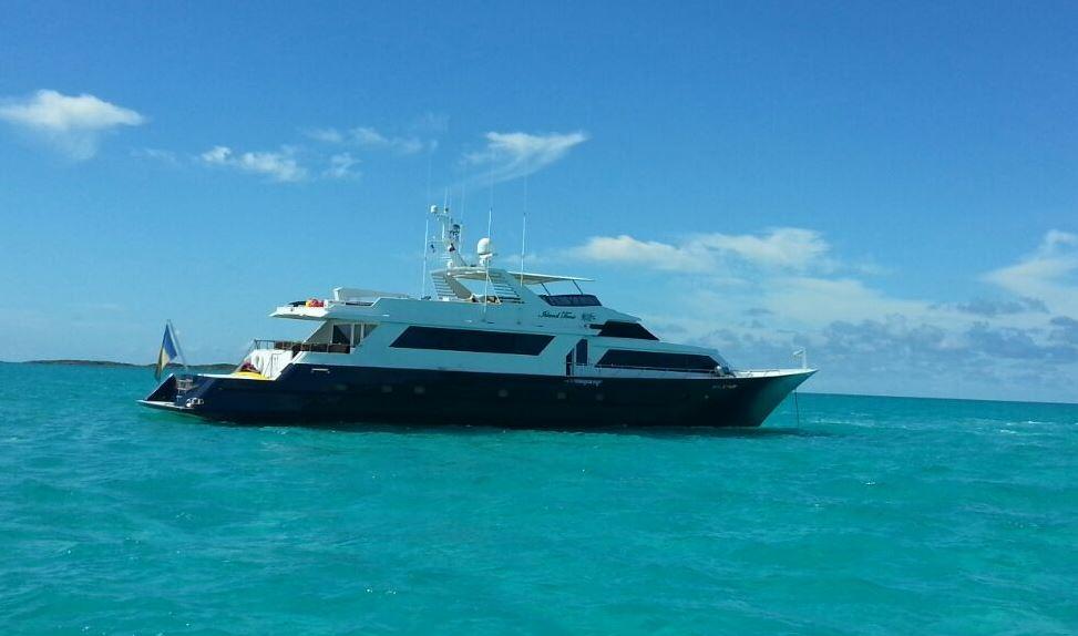 Yacht Island m/y island time - broward marine