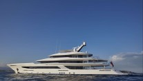 Yacht JOY Exterior Profile - Copyright Feadship