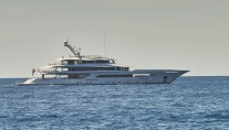 Yacht JOY Profile Mediterranean - Copyright Feadship