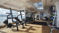 Yacht JOY The Gym - Copyright Feadship
