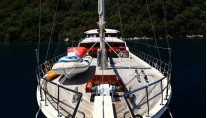Yacht JUNIOR ORCUN -  Front View of Decks