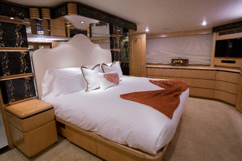 Yacht KELLY ANNE - Master Cabin