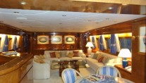 Yacht KENAYL -  Dining and Salon