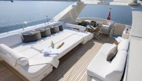 Yacht LA MASCARADE -  Top Deck