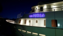 Yacht LA PERLA -  At Night