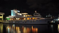 Yacht LADY DIANE II -  Profile at Night