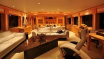 Yacht LADY DIANE II -  Salon
