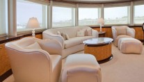 Yacht LADY LOLA -  Master Cabin Seating