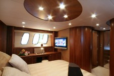 Yacht LADY T -  Master Cabin 2