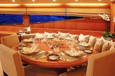 Yacht LITTLE JEMS - Dining