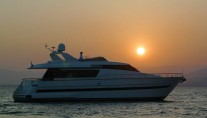 Yacht LOLEA -  At Sunset