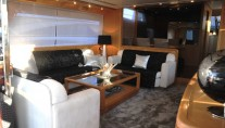 Yacht LOLEA -  Salon Seating