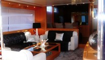 Yacht LOLEA -  Salon View from Aft Deck