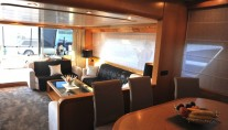 Yacht LOLEA -  Salon and Dining