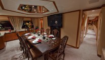 Yacht LOOSE ENDS -  Formal Dining Room
