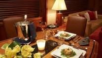 Yacht Live the Moment - Formal dining
