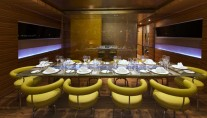 Yacht MABROUK -  Formal Dining