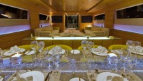 Yacht MABROUK -  Salon and Dining