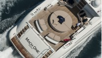 Yacht MACH ONE - From Above