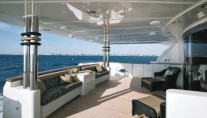 Yacht MAGIC aft deck