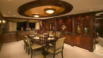 Yacht MAGIC formal dining