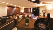 Yacht MAGIX - Boat deck office aft