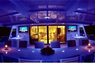 Yacht MAGNA GRECIA -  Deck Lighting