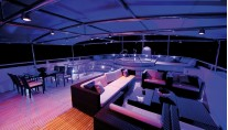 Yacht MAGNA GRECIA -  Sundeck At Night