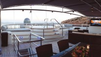 Yacht MAGNA GRECIA -  Sundeck and Spa Pool