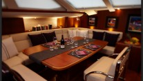 Yacht MAGRATHEA -  Dining Area