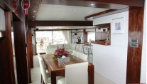 Yacht MAKARENA - Formal Dining