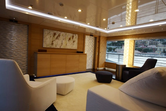 Yacht MAR - TV Saloon