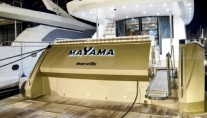 Yacht MAYAMA -  Aft View and Swim Platform