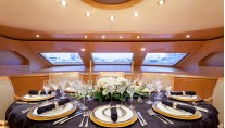Yacht MIRACLE - Formal Dining