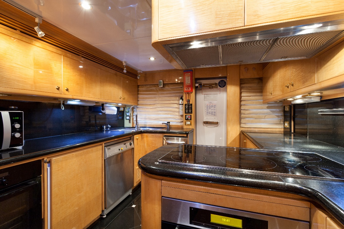 Yacht MIRACLE - Galley