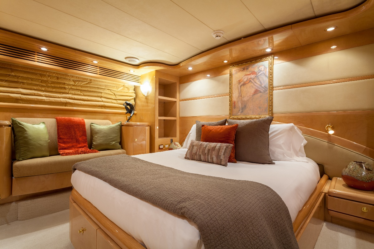 Yacht MIRACLE - VIP Cabin