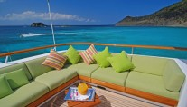 Yacht MONTE CARLO -  Sundeck Seating