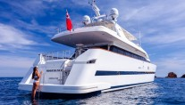 Yacht MOONDANCE - Aft View