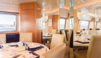Yacht MOONDANCE - Dining
