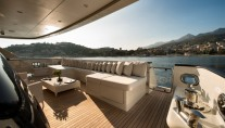Yacht MY DARLINGS - Aft Deck