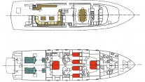 Yacht MY WAY - Layout
